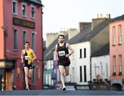 18 April 2019; Eric Keogh of Donore Harriers, Co. Dublin during the Kia Race Series Streets of Kilkenny 5k in Kilkenny City.  Photo by Harry Murphy/Sportsfile