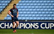 19 April 2019; Captain Peter O'Mahony during the Munster rugby captain's run at Ricoh Arena in Coventry, England. Photo by Brendan Moran/Sportsfile