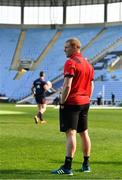 19 April 2019; Keith Earls looks on during the Munster rugby captain's run at Ricoh Arena in Coventry, England. Photo by Brendan Moran/Sportsfile