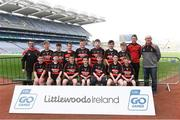 19 April 2019; The Newmarket, Co Cork, team at the Littlewoods Ireland Go Games Provincial Days in Croke Park. This year over 6,000 boys and girls aged between six and twelve represented their clubs in a series of mini blitzes and – just like their heroes – got to play in Croke Park, Dublin.  Photo by Piaras Ó Mídheach/Sportsfile