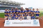 19 April 2019; The Cordal, Co Kerry, team at the Littlewoods Ireland Go Games Provincial Days in Croke Park. This year over 6,000 boys and girls aged between six and twelve represented their clubs in a series of mini blitzes and – just like their heroes – got to play in Croke Park, Dublin.  Photo by Piaras Ó Mídheach/Sportsfile