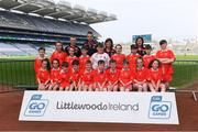 19 April 2019; The Mount Collins, Co Limerick, team at the Littlewoods Ireland Go Games Provincial Days in Croke Park. This year over 6,000 boys and girls aged between six and twelve represented their clubs in a series of mini blitzes and – just like their heroes – got to play in Croke Park, Dublin.  Photo by Piaras Ó Mídheach/Sportsfile