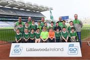 19 April 2019; The Glanworth, Co Cork, team at the Littlewoods Ireland Go Games Provincial Days in Croke Park. This year over 6,000 boys and girls aged between six and twelve represented their clubs in a series of mini blitzes and – just like their heroes – got to play in Croke Park, Dublin.  Photo by Piaras Ó Mídheach/Sportsfile