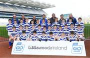 19 April 2019; The Castlehaven, Co Cork, team at the Littlewoods Ireland Go Games Provincial Days in Croke Park. This year over 6,000 boys and girls aged between six and twelve represented their clubs in a series of mini blitzes and – just like their heroes – got to play in Croke Park, Dublin.  Photo by Piaras Ó Mídheach/Sportsfile