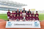 19 April 2019; The Athea, Co Limerick, team at the Littlewoods Ireland Go Games Provincial Days in Croke Park. This year over 6,000 boys and girls aged between six and twelve represented their clubs in a series of mini blitzes and – just like their heroes – got to play in Croke Park, Dublin.  Photo by Piaras Ó Mídheach/Sportsfile