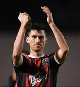 19 April 2019; Dinny Corcoran of Bohemians following his side's victory during the SSE Airtricity League Premier Division match between Bohemians and UCD at Dalymount Park in Dublin. Photo by Seb Daly/Sportsfile