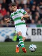 19 April 2019; Lee Grace of Shamrock Rovers during the SSE Airtricity League Premier Division match between Derry City and Shamrock Rovers at the Ryan McBride Brandywell Stadium in Derry. Photo by Stephen McCarthy/Sportsfile