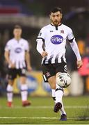 15 April 2019; Jordan Flores of Dundalk during the SSE Airtricity League Premier Division match between Dundalk and Bohemians at Oriel Park in Dundalk, Louth. Photo by Stephen McCarthy/Sportsfile