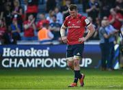20 April 2019; Munster captain Peter O'Mahony after the Heineken Champions Cup Semi-Final match between Saracens and Munster at the Ricoh Arena in Coventry, England. Photo by Brendan Moran/Sportsfile
