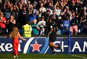 20 April 2019; Billy Vunipola of Saracens runs past the crowd following the Heineken Champions Cup Semi-Final match between Saracens and Munster at the Ricoh Arena in Coventry, England. Photo by David Fitzgerald/Sportsfile