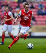 19 April 2019; Chris Forrester of St Patrick's Athletic during the SSE Airtricity League Premier Division match between St Patrick's Athletic and Sligo Rovers at Richmond Park in Dublin. Photo by Ramsey Cardy/Sportsfile