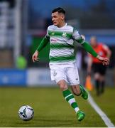 12 April 2019; Trevor Clarke of Shamrock Rovers during the SSE Airtricity League Premier Division match between Shamrock Rovers and Waterford at Tallaght Stadium in Dublin. Photo by Ramsey Cardy/Sportsfile
