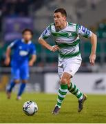 12 April 2019; Aaron Greene of Shamrock Rovers during the SSE Airtricity League Premier Division match between Shamrock Rovers and Waterford at Tallaght Stadium in Dublin. Photo by Ramsey Cardy/Sportsfile