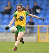 20 April 2019; Katy Herron of  Donegal during the Lidl NFL Division 1 semi-final match between Galway and Donegal at the Glennon Brothers Pearse Park in Longford. Photo by Matt Browne/Sportsfile