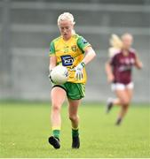 20 April 2019; Elaine Melaugh of Donegal during the Lidl NFL Division 1 semi-final match between Galway and Donegal at Glennon Brothers Pearse Park in Longford. Photo by Matt Browne/Sportsfile