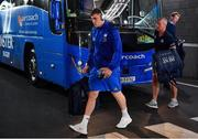 21 April 2019; Garry Ringrose of Leinster arrives prior to the Heineken Champions Cup Semi-Final match between Leinster and Toulouse at the Aviva Stadium in Dublin. Photo by Brendan Moran/Sportsfile
