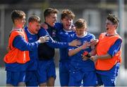 21 April 2019; Limerick players celebrate following the FAI Youth Interleague Cup Final between Limerick and Waterford at Jackman Park in Limerick. Photo by Harry Murphy/Sportsfile