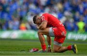 21 April 2019; A dejected Cheslin Kolbe of Toulouse after the Heineken Champions Cup Semi-Final match between Leinster and Toulouse at the Aviva Stadium in Dublin. Photo by Brendan Moran/Sportsfile