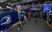 21 April 2019; Garry Ringrose, left, and Seán O'Brien leave the field following the Heineken Champions Cup Semi-Final match between Leinster and Toulouse at the Aviva Stadium in Dublin. Photo by David Fitzgerald/Sportsfile