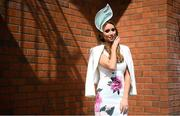 22 April 2019; Irish singer Una Healy prior to racing at Fairyhouse Easter Festival - Irish Grand National day at Fairyhouse Racecourse in Ratoath, Meath. Photo by David Fitzgerald/Sportsfile