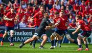 20 April 2019; Billy Vunipola of Saracens is tackled by Jack O'Donoghue of Munster during the Heineken Champions Cup Semi-Final match between Saracens and Munster at the Ricoh Arena in Coventry, England. Photo by Brendan Moran/Sportsfile