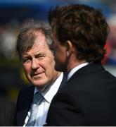 22 April 2019; Racehorse owner JP McManus, left, and former jockey AP McCoy during the Fairyhouse Easter Festival - Irish Grand National day at Fairyhouse Racecourse in Ratoath, Meath. Photo by David Fitzgerald/Sportsfile