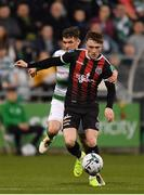 23 April 2019; Daniel Grant of Bohemians is fouled by Trevor Clarke of Shamrock Rovers during the SSE Airtricity League Premier Division match between Shamrock Rovers at Bohemians at Tallaght Stadium in Dublin. Photo by Seb Daly/Sportsfile