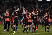 23 April 2019; Bohemians players celebrate following the SSE Airtricity League Premier Division match between Shamrock Rovers at Bohemians at Tallaght Stadium in Dublin. Photo by Eóin Noonan/Sportsfile