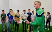 24 April 2019; Ballyhale Shamrocks manager Henry Shefflin during a coaching session at the launch of the Bank of Ireland Celtic Challenge 2019 at Croke Park in Dublin. Photo by Piaras Ó Mídheach/Sportsfile