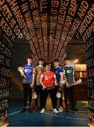 24 April 2019; In attendance, from left, Dónal Sheahan of Longford, Tommy Collins of Wicklow Gold, Zac Lennon of Louth, Cormac Smith of Cavan and Ciaran Mulvey of Kildare Cadets at the launch of the Bank of Ireland Celtic Challenge 2019 at the EPIC Museum, CHQ Building in Dublin. Photo by David Fitzgerald/Sportsfile