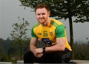 24 April 2019; Eamon Doherty of Donegal during the official launch of the 2019 Ulster Senior Football Championship launch at the Hill of The O'Neill in Dungannon, Co Tyrone. Photo by Oliver McVeigh/Sportsfile
