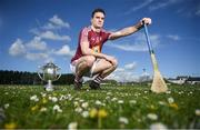 25 April 2019; Aonghus Clarke of Westmeath in attendance during the Joe McDonagh Competition promotion at Ballindaerreen GAA Club which was the club of Joe McDonagh in Ballinaderreen, Co Galway. Photo by David Fitzgerald/Sportsfile
