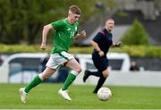 25 April 2019; Ross Tierney of Republic of Ireland during the SAFIB Centenary Shield Under 18 Boys' International match between Republic of Ireland and Wales at Home Farm FC in Whitehall, Dublin. Photo by Matt Browne/Sportsfile