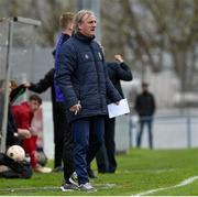 25 April 2019; Republic of Ireland coach Ollie Horgan during the SAFIB Centenary Shield Under 18 Boys' International match between Republic of Ireland and Wales at Home Farm FC in Whitehall, Dublin. Photo by Matt Browne/Sportsfile