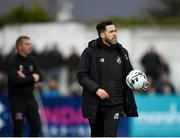 26 April 2019; Shamrock Rovers manager Stephen Bradley during the SSE Airtricity League Premier Division match between Dundalk and Shamrock Rovers at Oriel Park in Dundalk, Louth. Photo by Seb Daly/Sportsfile