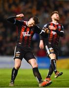 26 April 2019; Ryan Graydon of Bohemians reacts to a missed chance during the SSE Airtricity League Premier Division match between Bohemians and Waterford at Dalymount Park in Dublin. Photo by Sam Barnes/Sportsfile