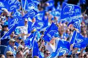 21 April 2019; Supporters at the Heineken Champions Cup Semi-Final match between Leinster and Toulouse at the Aviva Stadium in Dublin. Photo by Sam Barnes/Sportsfile