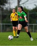 20 April 2019; Niamh Farrelly of Peamount United during the Só Hotels Women's National League match between Peamount United and Shelbourne at Greenogue in Rathcoole, Dublin. Photo by Sam Barnes/Sportsfile