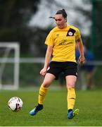 20 April 2019; Rachel Kelly of Shelbourne during the Só Hotels Women's National League match between Peamount United and Shelbourne at Greenogue in Rathcoole, Dublin. Photo by Sam Barnes/Sportsfile
