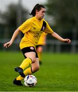 20 April 2019; Emily Whelan of Shelbourne during the Só Hotels Women's National League match between Peamount United and Shelbourne at Greenogue in Rathcoole, Dublin. Photo by Sam Barnes/Sportsfile