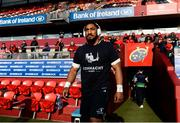 27 April 2019; Bundee Aki of Connacht prior to the Guinness PRO14 Round 21 match between Munster and Connacht at Thomond Park in Limerick. Photo by Diarmuid Greene/Sportsfile