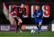 26 April 2019; Ryan Graydon of Bohemians in action against Shane Duggan of Waterford during the SSE Airtricity League Premier Division match between Bohemians and Waterford at Dalymount Park in Dublin. Photo by Sam Barnes/Sportsfile