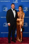 28 April 2019; On arrival at the Leinster Rugby Awards Ball are Sean O'Brien and Sarah Rowe. The Leinster Rugby Awards Ball, taking place at the InterContinental Dublin were a celebration of the 2018/19 Leinster Rugby season to date. Photo by Ramsey Cardy/Sportsfile