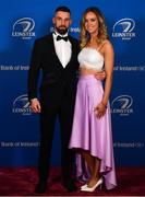 28 April 2019; On arrival at the Leinster Rugby Awards Ball are Cillian Reardon and Claire Condon. The Leinster Rugby Awards Ball, taking place at the InterContinental Dublin were a celebration of the 2018/19 Leinster Rugby season to date. Photo by Ramsey Cardy/Sportsfile