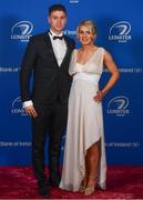 28 April 2019; On arrival at the Leinster Rugby Awards Ball are Fearghal Kerin and Muireann Kelleher. The Leinster Rugby Awards Ball, taking place at the InterContinental Dublin were a celebration of the 2018/19 Leinster Rugby season to date. Photo by Ramsey Cardy/Sportsfile