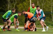 29 April 2019; Conor Murray during Munster Rugby squad training at the University of Limerick in Limerick. Photo by Diarmuid Greene/Sportsfile