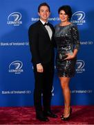 28 April 2019; On arrival at the Leinster Rugby Awards Ball are Daniel and Sandra Davey. The Leinster Rugby Awards Ball, taking place at the InterContinental Dublin were a celebration of the 2018/19 Leinster Rugby season to date. Photo by Ramsey Cardy/Sportsfile