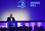 28 April 2019; Leinster Branch President Lorcan Balfe. The Leinster Rugby Awards Ball, taking place at the InterContinental Dublin and MC'd by Darragh Maloney, were a celebration of the 2018/19 Leinster Rugby season to date and over the course of the evening Leinster Rugby acknowledged the contributions of departees Seán O'Brien, Jack McGrath, Noel Reid, Mick Kearney, Nick McCarthy, Tom Daly and Ian Nagle. Former Leinster, Ireland and British & Irish Lions player Paul Dean was inducted into the Guinness Hall of Fame. Some of the other Award winners on the night included; St. Michael's College (Deep River Rock School of the Year), Larry Halpin, Terenure College (Beauchamps Contribution to Leinster Rugby Award), Naas RFC (CityJet Senior Club of the Year), Patrician Secondary School Newbridge (Irish Independent Development School of the Year Award), Suttonians RFC (Bank of Ireland Junior Club of the Year) and Sene Naoupu (Energia Women's Rugby Award). Photo by Ramsey Cardy/Sportsfile