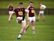 30 March 2019; Ger Egan of Westmeath during the Allianz Football League Roinn 3 Round 6 match between Louth and Westmeath at the Gaelic Grounds in Drogheda, Louth.   Photo by Oliver McVeigh/Sportsfile