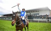 1 May 2019; Ruby Walsh celebrates on Kemboy after winning The Coral Punchestown Gold Cup during the Punchestown Festival Gold Cup Day at Punchestown Racecourse in Naas, Kildare. Photo by David Fitzgerald/Sportsfile
